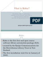 What is koha?