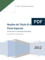 Apostila-Pós-Concurso-Crimes contra Administração Pública - Justiça