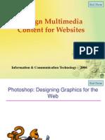 Design Multimedia Content for Websites