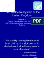 The Healthcare System of United Kingdom