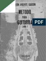 Método Para Guitarra - LV Gascón