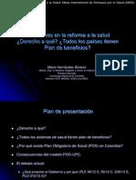 Alternativas en La Reforma a La Salud