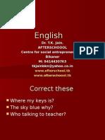 27 June English