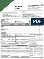Member's Data Form_F