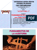 Cap.I Fundamentos de La Auditoria