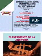 Cap.iii El pLan y Programa de Auditoria