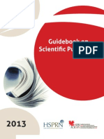Guidebook on Scientific Publishing in Health Services and Policy Research