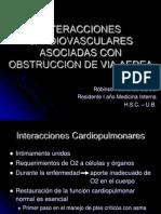 Interacciones Cardiovasculares Asma