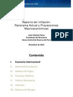 Reporte de Inflacion Diciembre 2012 Presentacion