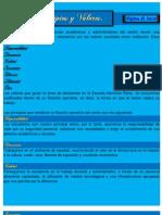 principios y valores escuela Herminia Pérez