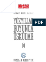 Mehmet Nermi Haskan Yüzyillar Boyunca Üskudar Cilt 1 (2001)