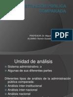 ADMINISTRACIÓN PÚBLICA COMPARADA