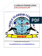 Silambam Fencing Rules Book