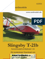 SlingsbyT21b Aircadets Glider