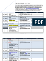 AP Literature Calendar 13-14