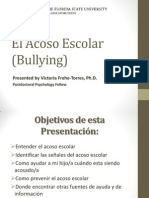 El Acoso Escolar (Bullying)