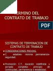 Termino Del Contrato de Trabajo[1]