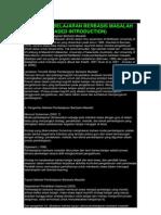 Model Pembelajaran Berbasis Masalah PBL