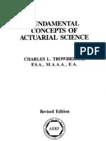 Fundamental Concepts of Actuarial Science