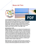 Playas en Bocas Del Toro