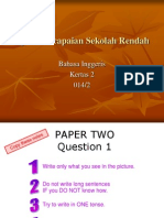 Upsr Paper Two