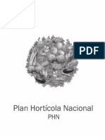 Plan Nacional Horticola