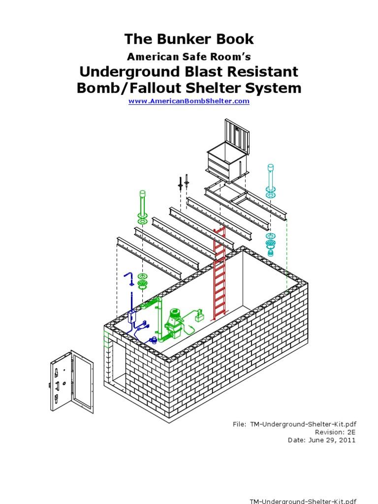 tm underground shelter kit