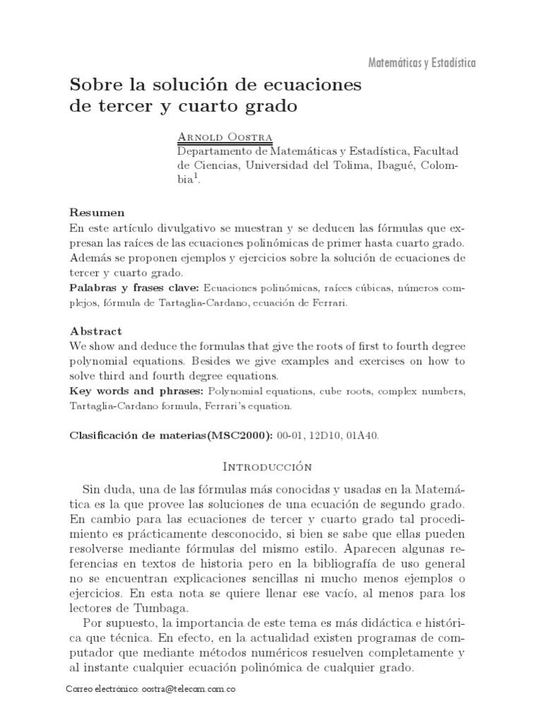 Dialnet-SobreLaSolucionDeEcuacionesDeTercerYCuartoGrado-3994517