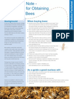 Advice for Obtaining Bees Healthy Comb