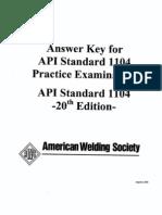 API 1104 (Sample Exam)_Ans