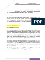 5 MW Biomass Project- Technical Report
