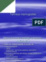 Tehnica mamografiei 2