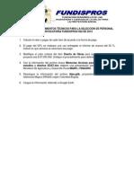PRUEBA DE CONOCIMIENTOS TÉCNICOS CONVOCATORIA 002