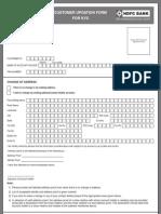 Customer Updation Form BW
