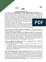 Alerta HSE Influenza porcina abril 2009