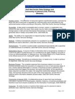 DoD DT 12 COI Glossary