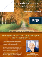 The Case for Permaculture Session 1 of 7