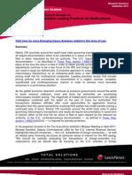 Pwc Transfer Pricing Documentation Leading Practices Multinational Enterprises