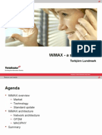 Presentation of Wimax Basic Intro