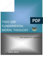 Lesson Hondouts - Moral Theology
