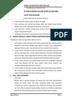 Tugas 01 Dalil, Prinsip Dan Konsep Dalam Teori Akuntansi