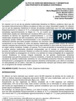 LA RECOLECCIÓN Y CULTIVO DE ESPECIES MEDICINALES Y AROMÁTICAS