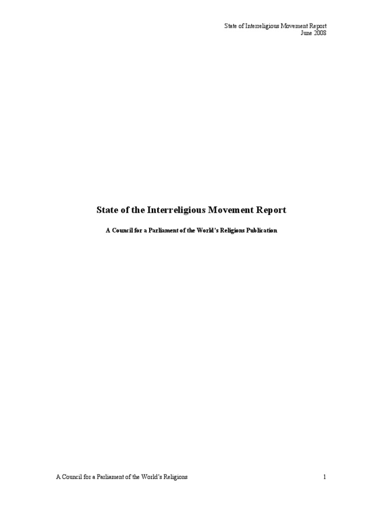 State Of The Inter Religious Movement Report June 2008 Meat Cut Diagrams Keysborough Egg Farm Interfaith Dialogue Bah Faith