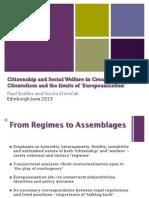 Stubbs Zrinscak Citizenship and Social Welfare in Croatia