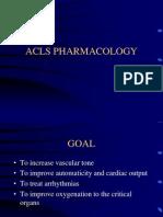 ACLS Pharmacology 2010v2