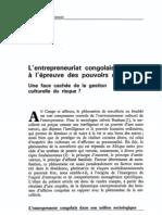 Dzaka-Kikouta T., Milandou M., 1994, L'entrepreneur congolais à l'epreuve des pouvoirs magiques 056108