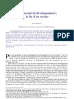 François A (2004), Développement, la fin d'un mythe