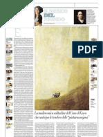 IL MUSEO DEL MONDO 24 - Cane Di Francisco Goya (1820-1823) - La Repubblica 09.06.2013