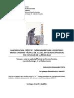 Credito y Endeudamiento en Los Sectores Medios Chilenos Ilusion de Movilidad Social