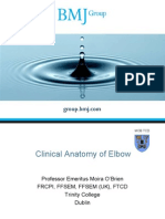 Clinical Anatomy of the Elbow BMJ